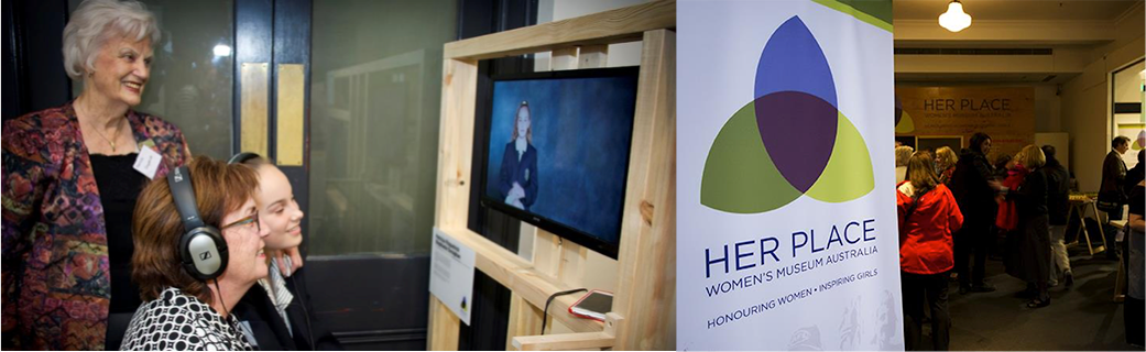 Her Place Pop Up Exhibition